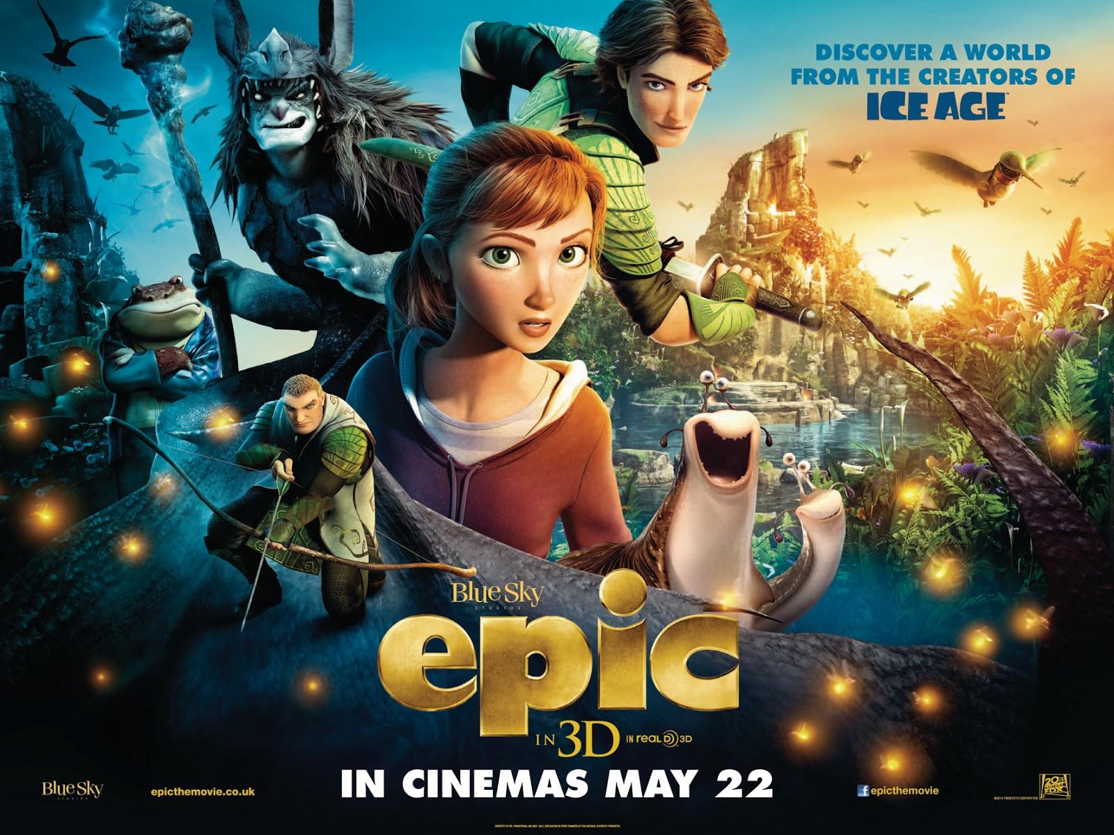epic movie 2013 3d | AAMBAR's Reviews