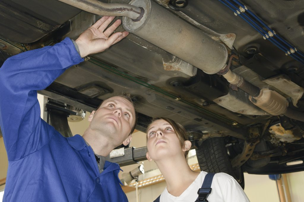 signs your car exhaust system is