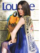 Tabassum Mughal design on cover of Lounge