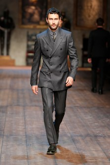 suit coat dolce and gabbana fw 15