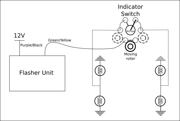 Lucas Flasher Unit Wiring Diagram Collection