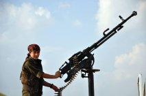 مقاومت زنان کوبانی در برابر نیروهای داعش-2