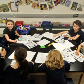 Rachel Rizzo's students at Eliot School