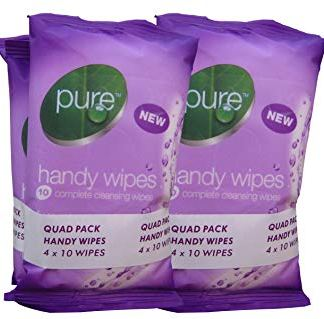 pure handy wipes