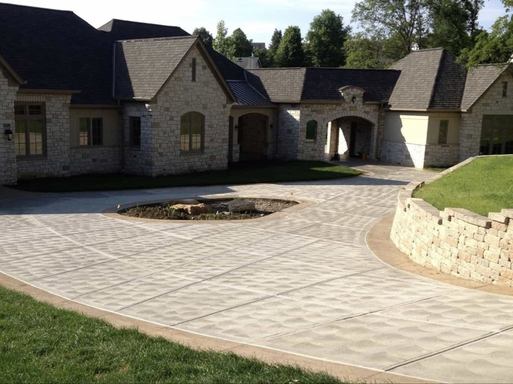 driveway replacement and installation