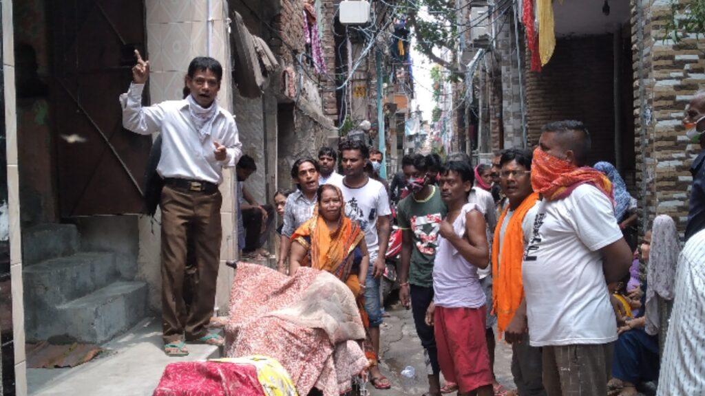 जहाँगीर पूरी के C ब्लॉक में युवक ने लगाई फांसी।