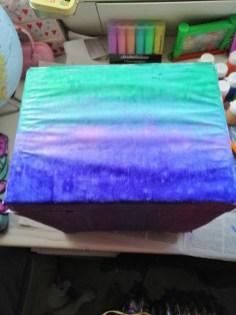 Shadows of Winterspell Art Work the box