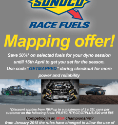 sunoco race fuels mapping offer 2018 [ 1444 x 2048 Pixel ]