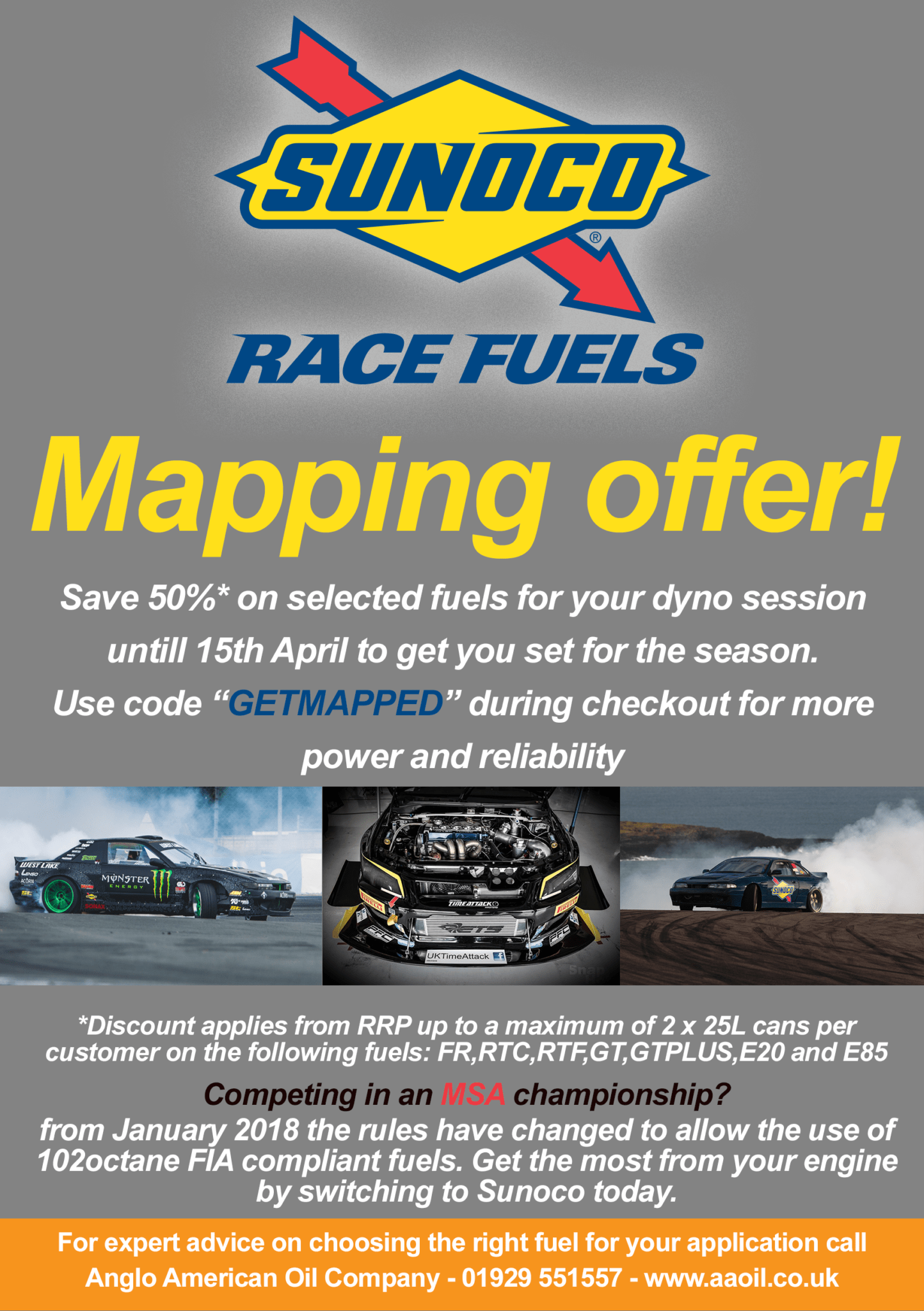 hight resolution of sunoco race fuels mapping offer 2018