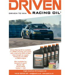 driven racing oil dt40 5w 40 pack for sr20 rb25 engines anglo american oil company [ 2048 x 2048 Pixel ]