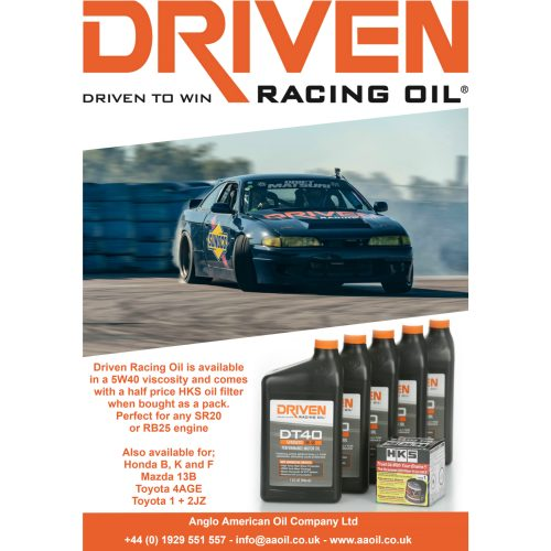 small resolution of driven racing oil dt40 5w 40 pack for sr20 rb25 engines anglo american oil company
