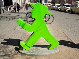 Little green man of Berlin