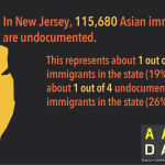 Infographic: AA Undocumented NJ  (2015)
