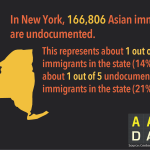 Infographic: AA Undocumented NY  (2015)