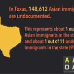 Infographic: AA Undocumented TX  (2015)