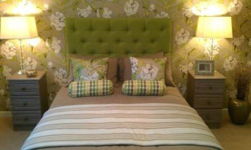 bedroom-lime-green