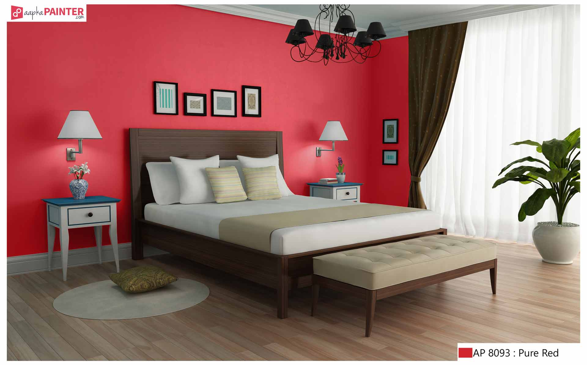 Red Paint Colors Ideas For Bedrooms. Every Time We Think Of The Color Red,  The Primary Thoughts That Strike Our Mind Are Love, Desire, Passion, ...