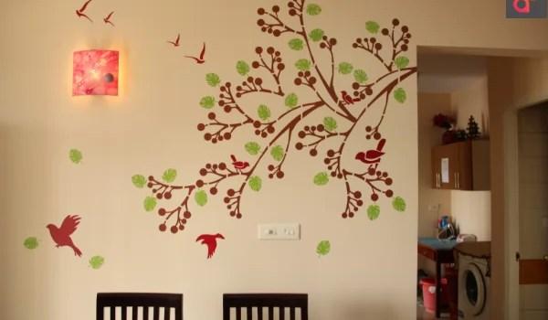 20 Modern Art Related Wall Stencil Designs Ideas