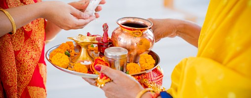 Celebrate the Nine Forms of Goddess Durga with the Nine Colours of Navaratri