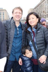 One Asian American family
