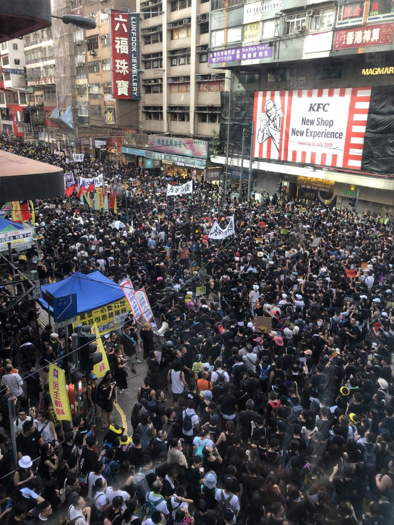 Hong Kong citizens continue protests against China extradition bill   Asian American Press