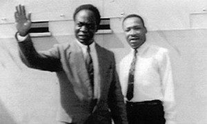 Pres. Kwame Nkrumah and Martin Luther King Jr