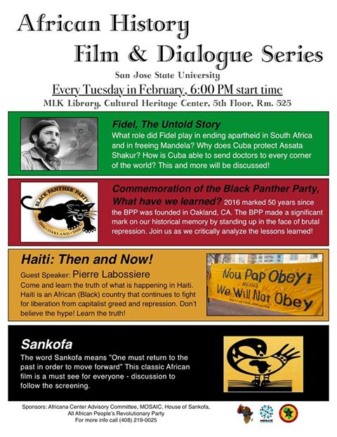 African History Film and Dialogue Series