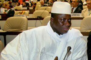 Former Gambian President Yahya Jammeh