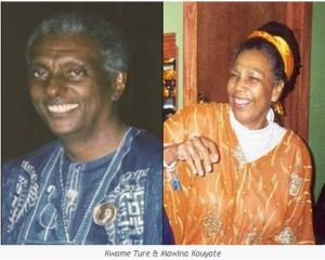 Kwame Ture and Mawina Kouyate