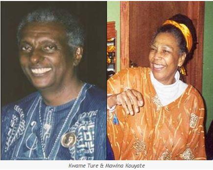 Kwame Ture and Mawina Kouyate