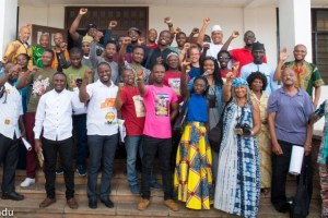 Comrades at A-APRP 50th Anniversary in Ghana in 2018