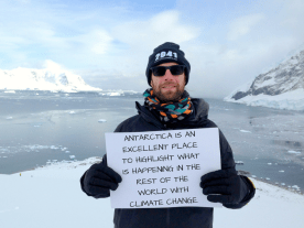 I want to save Antarctica because... -Guy, 35, UK