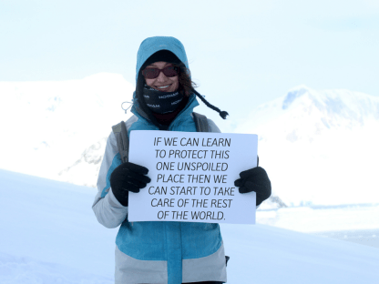 I want to save Antarctica because... -Lucie, 28, Australia