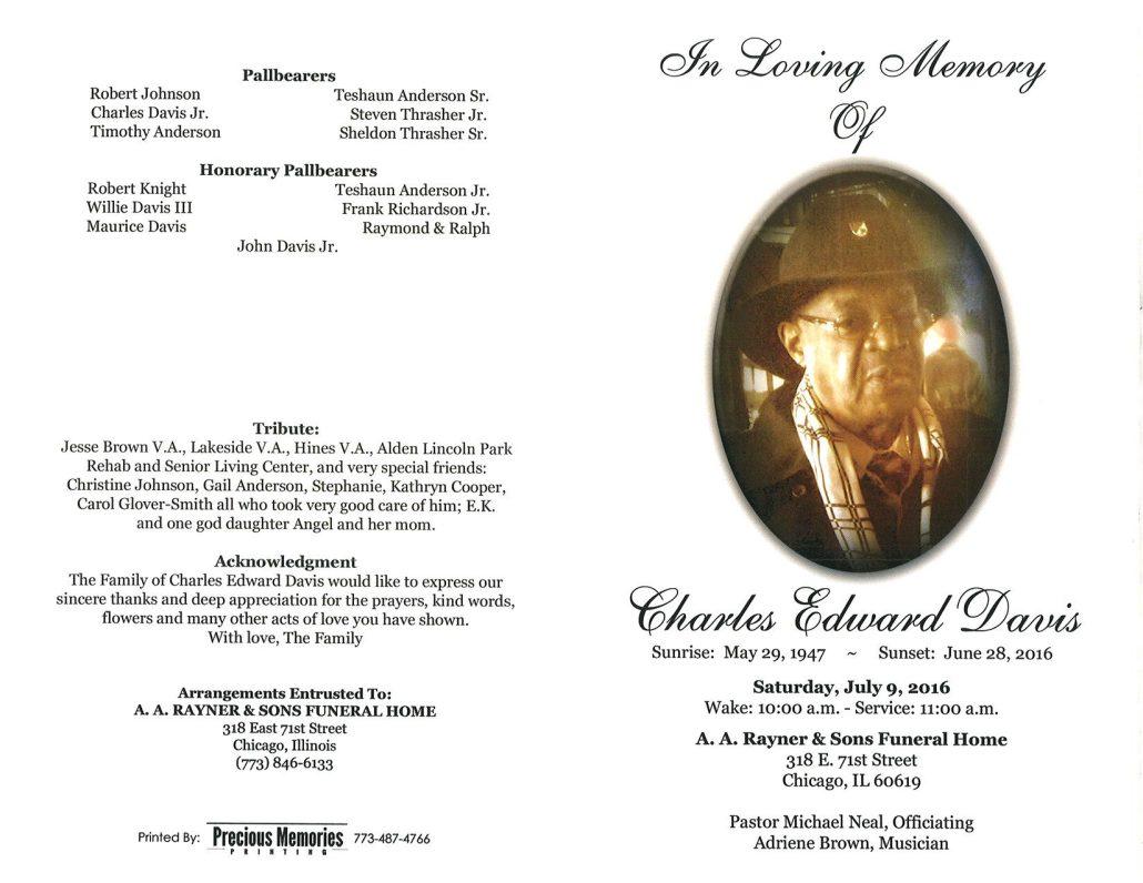 Charles Edward Davis Obituary 2054_001