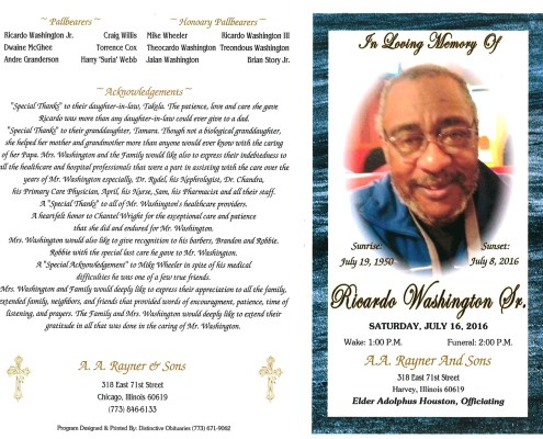 Ricardo Washington Sr Obituary 2081_001