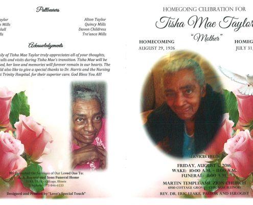 Tisha Mae Taylor Obituary 2140_001