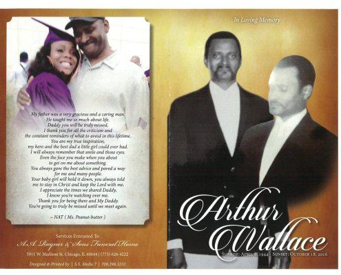 Arthur Wallace Obituary