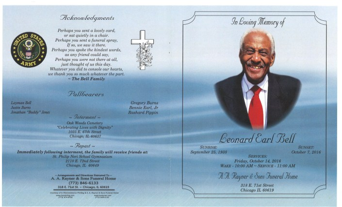 Leonard Earl Bell Obituary