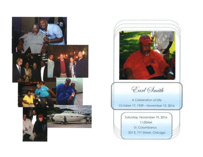 Earl Smith Obituary