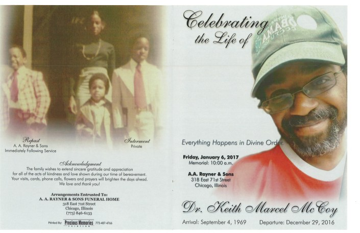 Dr Keith Marcel McCoy Obituary