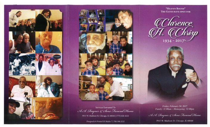 Clarence H Chrisp Obituary