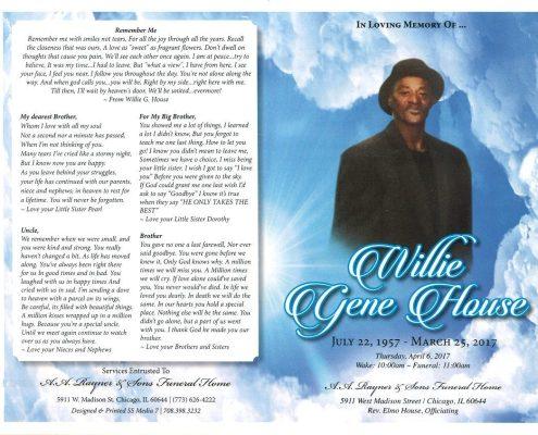 Willie Gene House