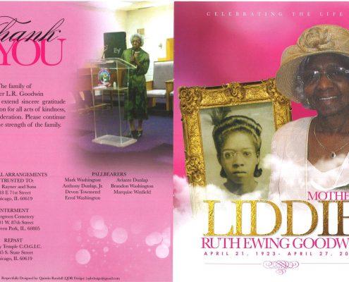Liddie Ruth Ewing Goodwin OBituary
