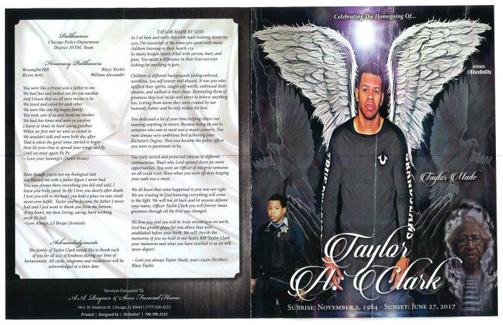 Taylor A Clark Obituary