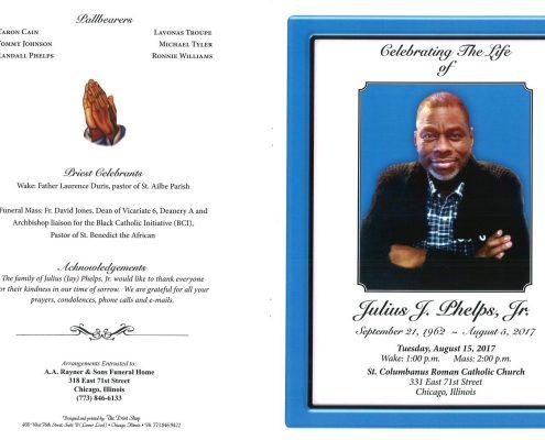 Julius J Phelps Jr Obituary