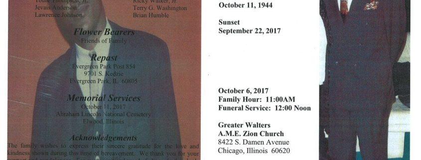 Joe Willie Lucas Obituary