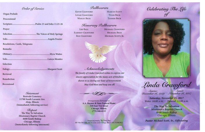 LInda Crawford Obituary