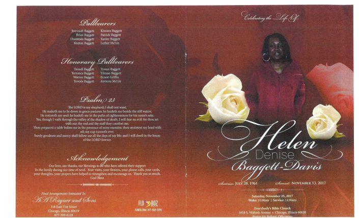 HElen Denise Baggett Davis Obituary