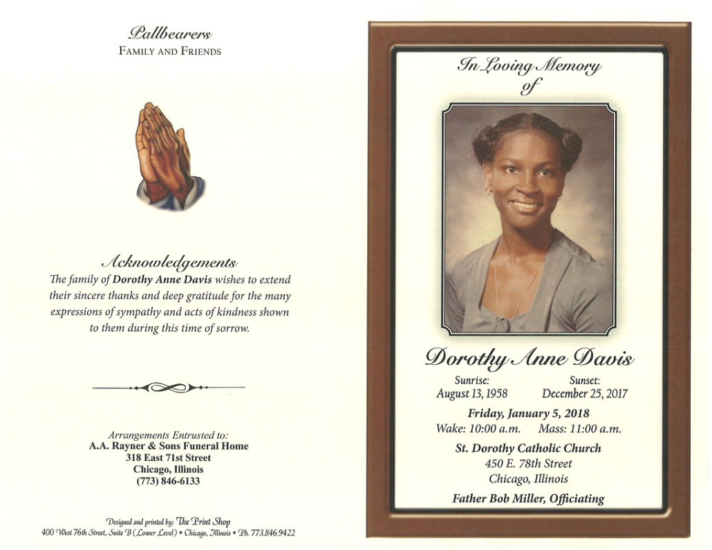 Dorothy Ann Davis Obituary