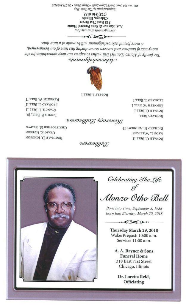 Alonzo Otho Bell Obituary